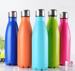 Wholesale Swell Large Stainless Steel Bottle Swell Mug Vacuum Flask Cup S well Sports Bicycle Water Bottles ml Best Quality Colors Xmas Gift