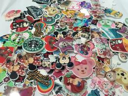Kawaii dessin animé plats arrière planar résine Mix Pink Big Mickey Minnie ours Figurine fée jardin décoration artisanale bricolage arc cheveux accessoires cheap friendly hair à partir de cheveux amicale fournisseurs