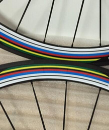 Rainbow 60mm bike Clincher tubular road bike wheelset Full Carbon profile clincher wheelset matte Glossy finish