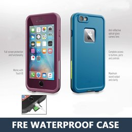 Wholesale Luxury Life Water Proof Case For iPhone s Fre Waterproof Case With Retail Box