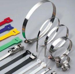 wire cable tie various sizes zip tie wraps popular products plastic loop ties Color tie