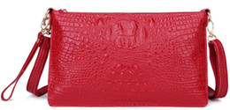 shoulder purse clutch bag women wallet holders handbag ostrich tote lady new arrive UK France AU crocodile genuine leather bags US EUR