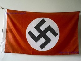 Wholesale Flag of The German Reich x cm Polyester Germany WW2 History Banner