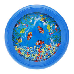 Wholesale Ocean Wave Bead Drum Gentle Sea Sound Musical Educational Toy Tool for Baby Kid Child