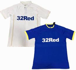 Wholesale NEW Leeds Jersey Premier League United home away white blue Sports shirts jeresys