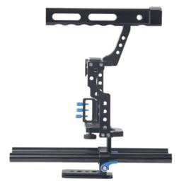 Compra Online A7s sony-Profesional DSLR Cage Cámara réflex SLR cámara de fotos Accesorios para Sony A7S A7 A7R A7RII A7SII Panasonic GH4