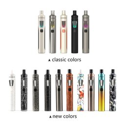 electronic cigarettes Authentic Joyetech Ego Aio Kit 1500mah Ego Aio Battery 2ml Anti leaking Tank All In One E Cig Starter Kit
