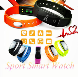Wholesale Sport Smart Watch Men Passometer Smart Band Wristband Bluetooth Heart Rate Monitor Active Tracker Sport Bracelet Smartwatch