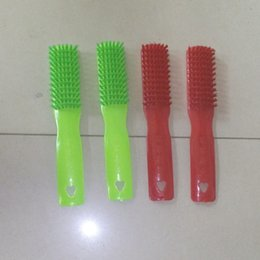 Wholesale Supply Plush plastic brush plastic washing brush cleaning shoes brush yuan store department store advertising promotional items