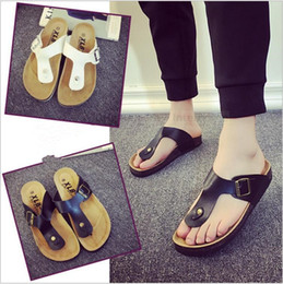 Wholesale Unisex Fashion Slippers Couple Summer Sandles Beach Shoes Beach Flip flops PU Leather Slippers Casual Cool Slippers Zapatos Mujer Sandalias