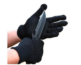 Wholesale 5 thick anti knife cut labor protection steel wire self defense gloves Cut Resist Gloves sports gloves