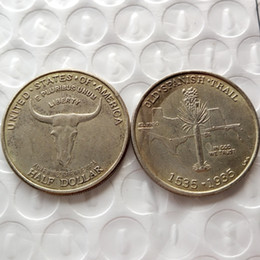 Wholesale HOT SELLING promotion Old Spanish Trail Commemorative Half Dollars Cheap Factory Price nice home Accessories Silver Coins