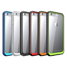 Wholesale For Iphone Supcase Unicorn Beetle Hybrid Case Clear TPU PC Supcase For iPhone Plus S Plus S
