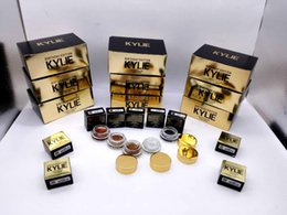 Wholesale Kylie Limited Birthday Edition Waterproof Eyebrow Cream Kylie DIP BROW Pomade Birthday Edition Kylie Eyebrow paste Rose Gold brown