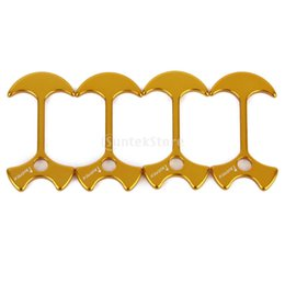 Wholesale mm Aluminum Alloy Gallery Road Tent Awning Anchor Guy Line Runners Gold