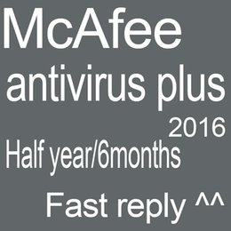 Wholesale Original McAfee AntiVirus Plus McAfee antivirus software combination of equipment activation account months days from buying