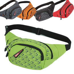 Free DHL Fashion Outdoor Leisure Multifunctional Sports Bag Waist Bag Walllets For Men Women Fanny Pack