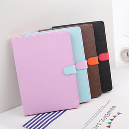 Wholesale 4 Candy colours PU leather book style pad cases for iPad Mini Ultra thin colours Stand Case inch iPad Pro Air Folding Covers