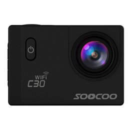 Wholesale Sd Card Voice Recording - Original SOOCOO C30 WiFi Action Camera 2.0 inch Screen 170 Degree Wide Angle Voice Prompt Loop Cycle Recording Motion Detection