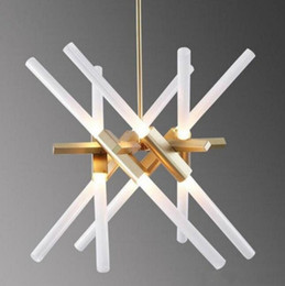 Wholesale Creative Agnes Chandelier Post modern Art Roll Hill Lighting Fixture Living Room Office Hotel Project Light MYY