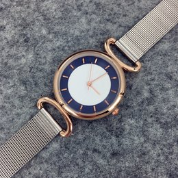 Wholesale Special disign Fashion lady watches luxury women watch golden Stainless Steel rose Bracelet Wristwatches Brand female clock