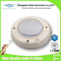 Wholesale w w UFO smart sound activated Light Controller LED Light Bulbs manufacturer Auto Switch Stairs Night Lights