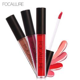 FOCALLURE Matte Lip Liquid Lipstick 50 Colors Paint Waterproof Long Lasting Lip Gloss Lip Kit