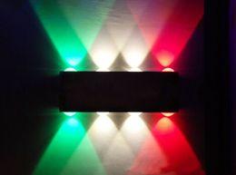 Dans la lumière conduit 6w en Ligne-Lampe de table contemporaine en aluminium 6W / 8W en aluminium