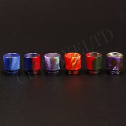 Wholesale the best electronic cigarettes vape resin drip tip for smok tfv8 specialized oil vaping mouthpiece bringing good taste of fragrance