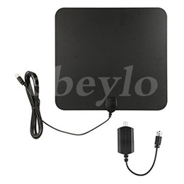 Wholesale HDTV Indoor Antenna Miles Digital Long Range TV HD Antenna With Amplifier Signal Booster Upgraded Version Better Reception