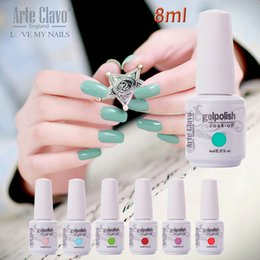 Wholesale Premium Qualiity ml Arte Clavo Choose Piece Professional Nail UV Gel Polish Soak Off Color Gel For Nail Salon Gel Polish