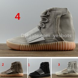 11Newest DHL gratuit Nouveau Mens Chaussures Noctilucent Light Grey Glow 750 Boost Athletic Boots Chaussures de basket-ball Bottes de sport Red Boosts à partir de lumières bottes fabricateur