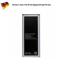 For Samsung Galaxy Note 4 N9100 EB-BN910BBE EB-BN910BBU Replacement Battery Germany stock dhl ddp freeshipping 100Pcs