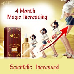 Wholesale AFY Body Increasing essential oils Grow taller For Short Stature Grow taller Foot Health Bone Growth Products ml