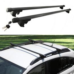 Wholesale 2X For Dodge Journey Car Vehicle Black Luggage Carrier Roof Rack HOLDER DIY CASE L