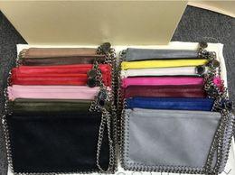 Factory Sale falabella Shaggy Deer PVC chain metal Pendant lady Coin Purse Phone Pocket Cluth purse