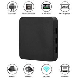 Complète android à vendre-2017 Newset Android TV 6.0 Box Rockchip RK3229 Quad Core 2 Go 8 Go Smart Android Box Ott WiFi 3D HDMI Lecteur multimédia T703