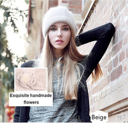 Wholesale Sedancasesa New Lady Cloche Hat with Australian Wool Autumn Winter Keep Warm Hats For Women Bucket Hat WG015021