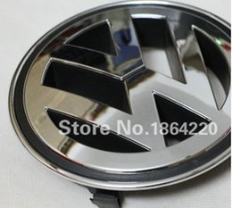 Wholesale NEW VW VOLKSWAGEN FRONT GRILL BADGE EMBLEM PLATING FOR PASSAT CC JETTA A5 SAGITA GOLF TIGUAN MM OEM K5853600