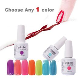 Wholesale Choose Any Color from Total Colors ml Arte Clavo UV Gel Led Gel Nails Art Soak Off Nail Gel Polish