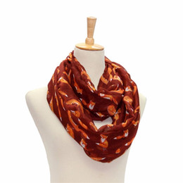 2017 mejores bufandas de moda Venta al por mayor-Best-seller Moda mujer damas Fox patrón de impresión Voile Wrap bufanda bufanda Jan6 QH mejores bufandas de moda en venta