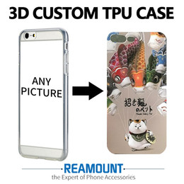3D Printing Cover Colorful Case for iphone 7 7plus Relief Soft TPU Phone Case for iphone 6 6plus Mobile Phone Case