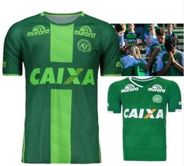 Wholesale 2016 Brazilian Chapecoens fc football Chapecoense AF soccer jerseys Chapecoens away green soccer jersey top best quality