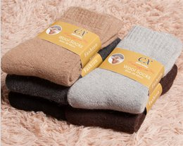 Wholesale Wool socks Winter men thickening loop thermal socks Super thick cloth rabbit abb towel at the bottom of men s socks