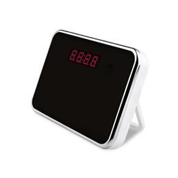 Mini cámaras wi fi en Línea-HD1080P Wi-Fi mini espía espejo reloj cámara de control remoto DV detección de movimiento oculto videocámara para la seguridad en el hogar (una libre 8G tarjeta micro SD)