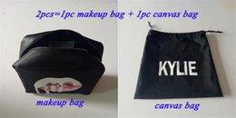 Wholesale 20lot Kylie Jenner Make Up kylie Bag kylie Canvas bag Birthday Collection Makeup Bag Kylie Lip Kit Bag High Quality