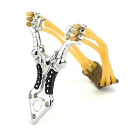 Lady self-defense alloy Slingshot Hunting Slingshots Night safety protection Sports & Outdoors