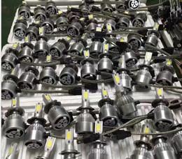 Free shipping 2pcs car 12V CREE Led Beam Replacement LED conversion kit DRL Fog Headlight Conversion kit Bulb H1 H7 9005 H9-H10-H11 9006
