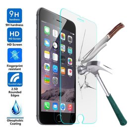 9H 2.5D Anti-Explosion Tempered Glass for iphone 6 6s 6 splus 7 7plus iphone X arc Film Screen Protector for iphone6 Oleophobic Coating