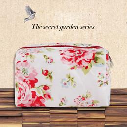 Cosmetic bag large capacity wash handbag Printing type portable travel waterproof zipper storage bags high quality Makeup Bag For Women